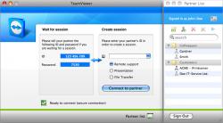 teamviewer 4 disponible pour mac os x